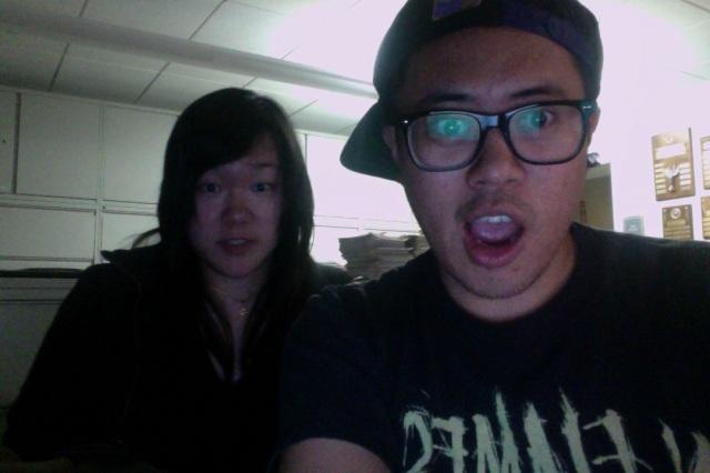 Emily and I at Pasadena City College.