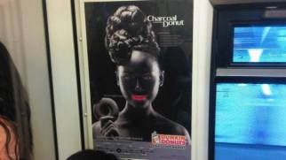 The new Dunkin Donuts ad in Thailand for their Charcoal Donut has sparked controversy for its alleged nod to Blackface.