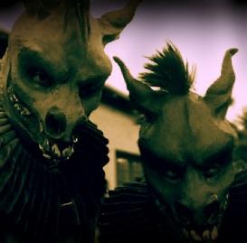 Tall donkey boy Evan and I.