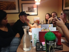 Denny's with the crew!